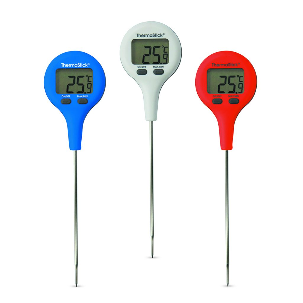 Food safety made quick and easy with the NEW ThermaStick Pocket Thermometer.
