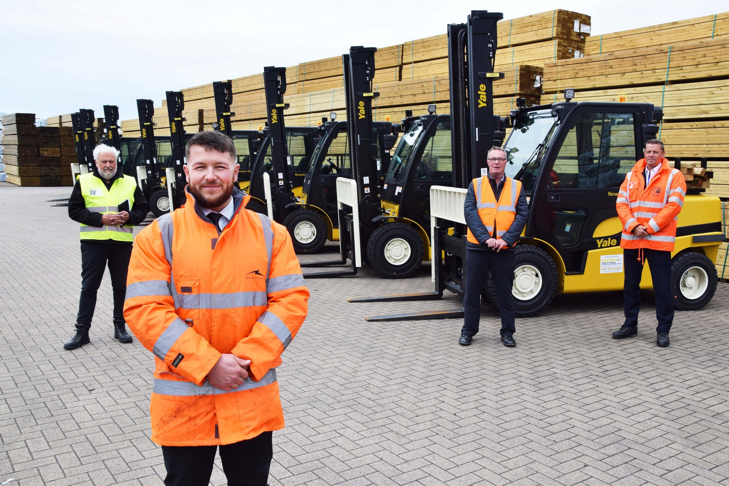 Yale lift trucks from Forkway Group