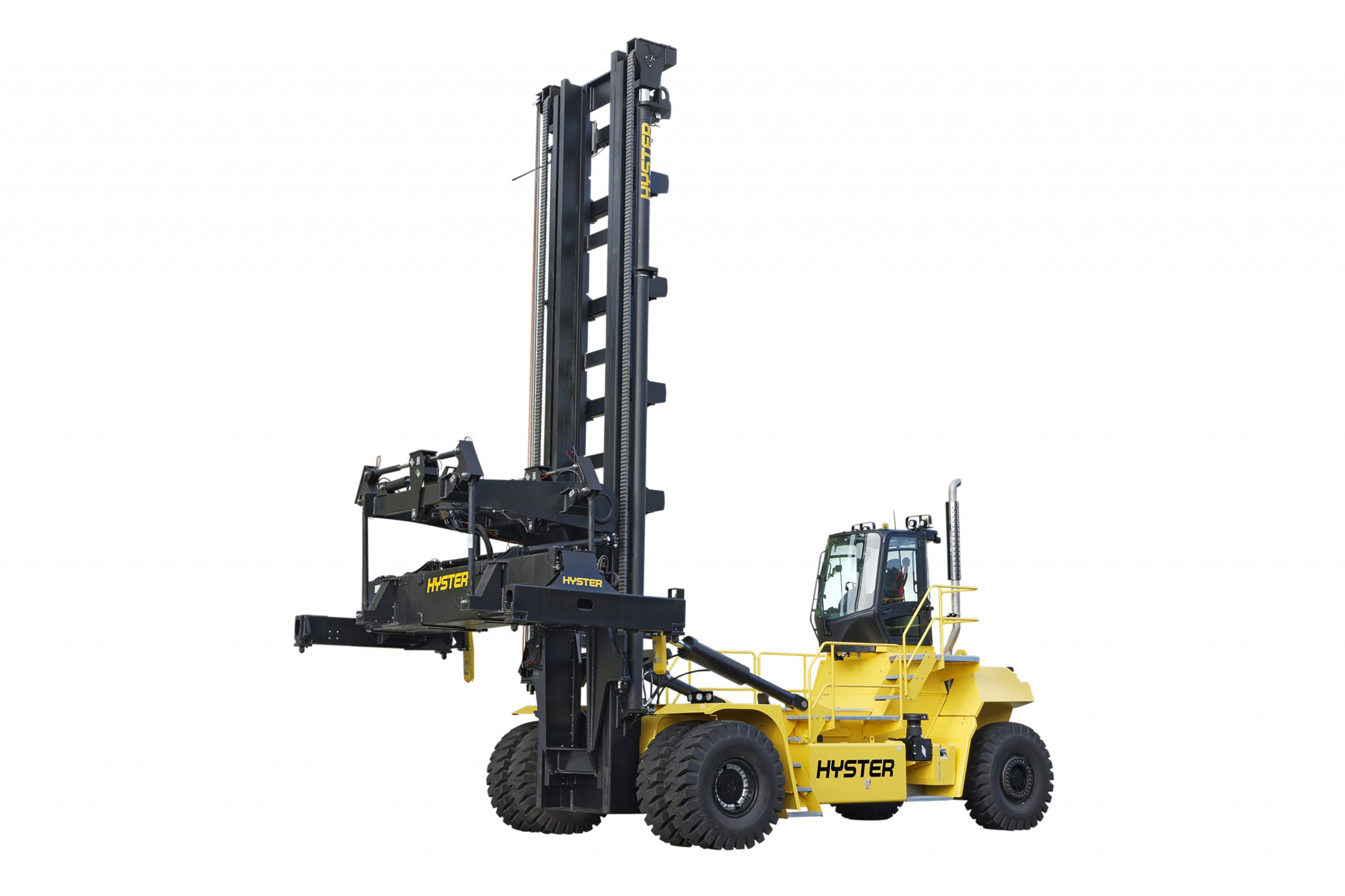 Hyster Europe has launched a new top lift Laden Container Handler that is expected to increase productivity in busy ports and terminals, in line with increasing demands.