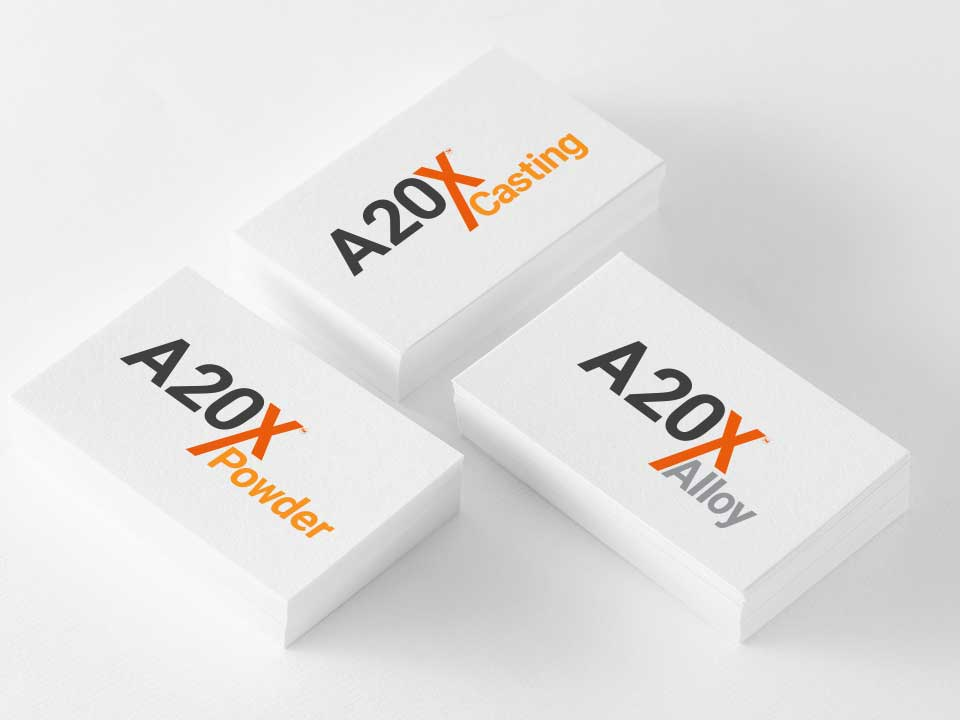 Branding and logo for a20x
