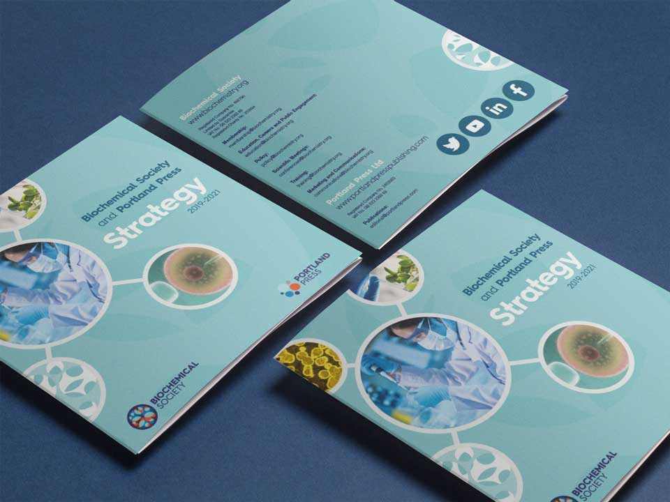 Brochure Design for Biochemical Society