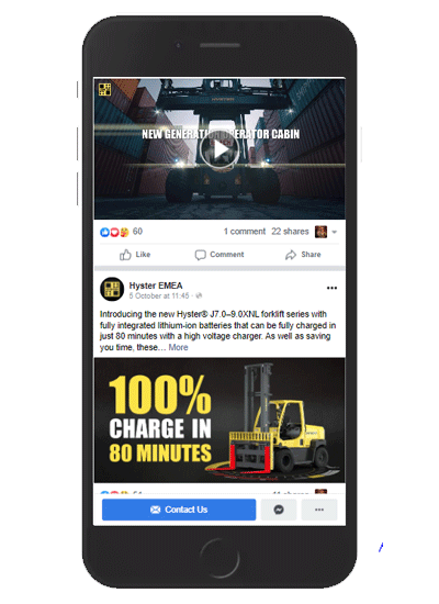 PR & Content Production for Hyster EMEA