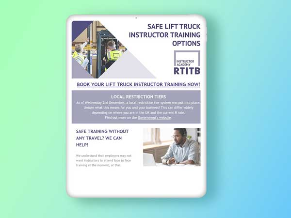 Example of RTITB Digital Campaigns