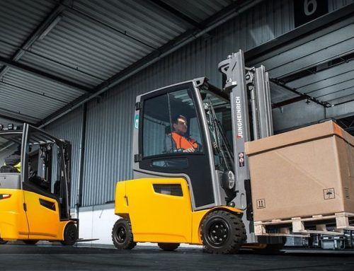 eTruck Transforms Forklift Training for Jungheinrich in Ireland