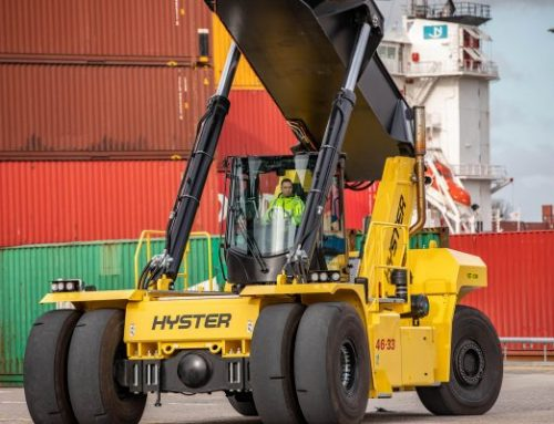 New Cab and Engine for Largest Hyster® Big Trucks